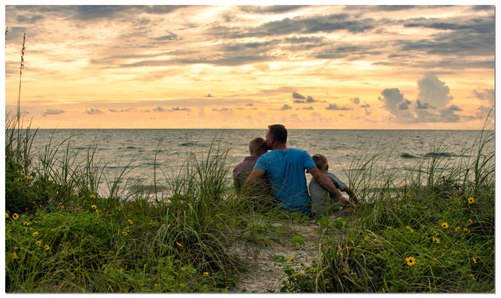 Family Portraits at Clearwater Beach