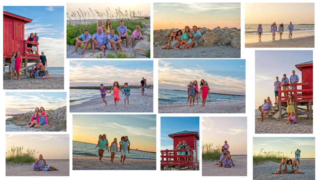 Clearwater Beach Photographers for family portraits on Clearwater Beach