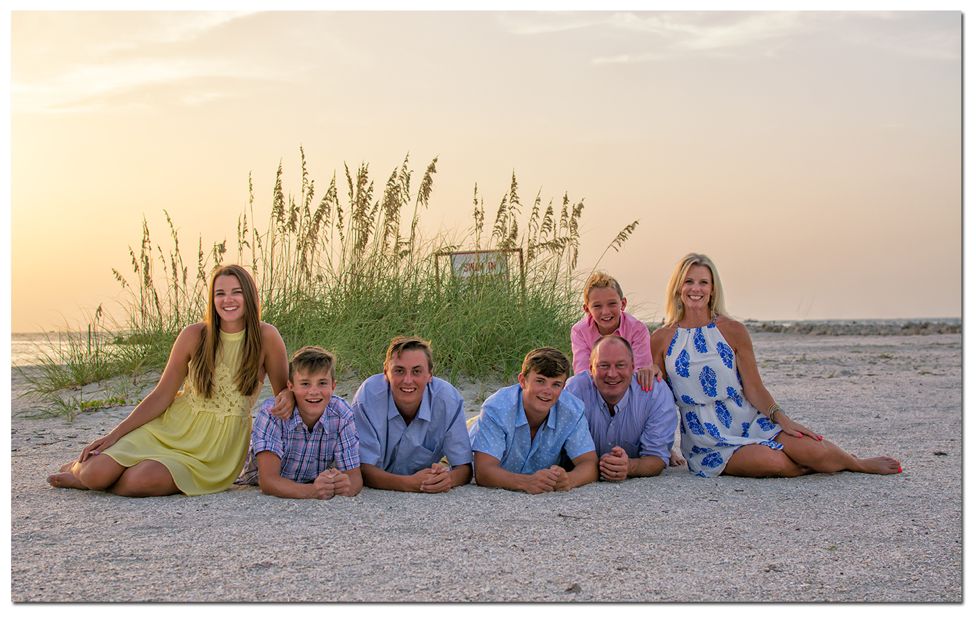 Clearwater Beach Family Portrait Photographers
