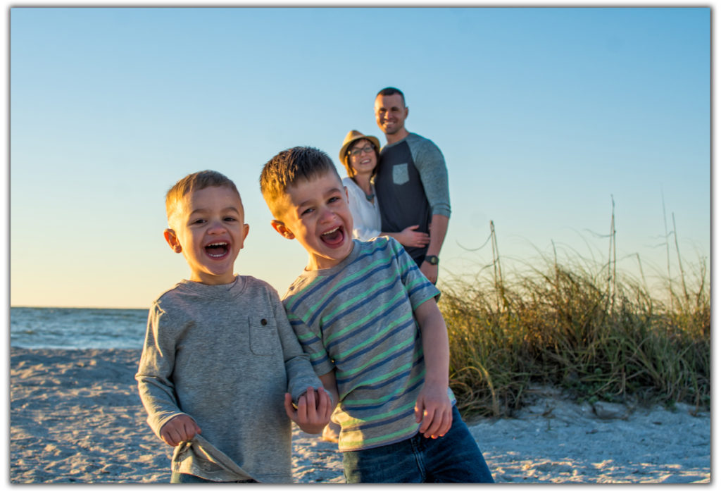 Family Portrait Photographer on Clearwater Beach