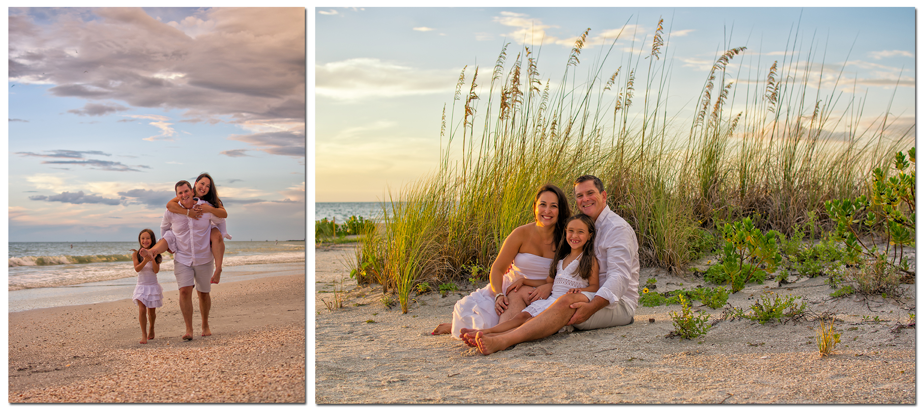 1-Hour Family Portraits at Clearwater Beach - Only $150.00!