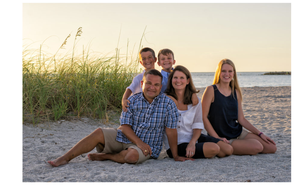 Clearwater Beach Photographers Family Portraits at Clearwater Beach