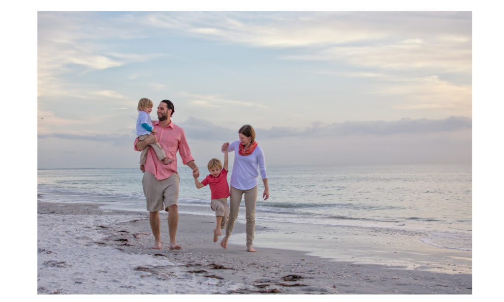Clearwater Beach Photography family portrait sample