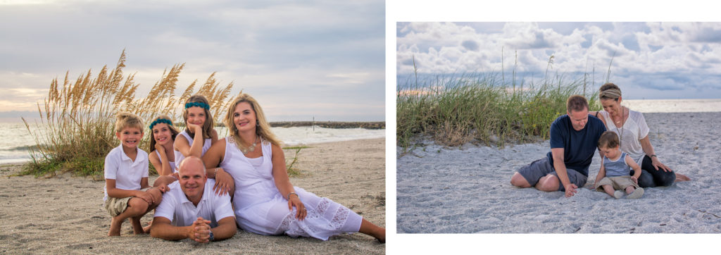 Clearwater Beach Photographers – Family Portrait Samples